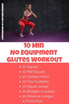 10 min glutes workout