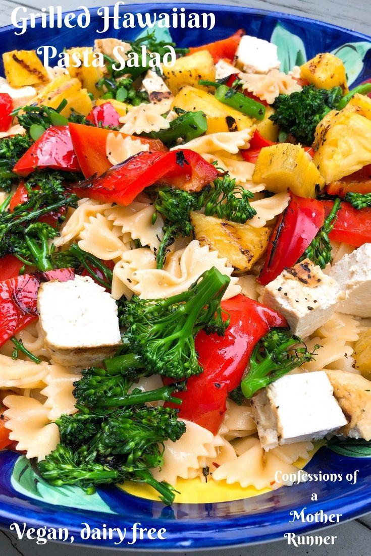 Grilled Hawaiian Pasta Salad
