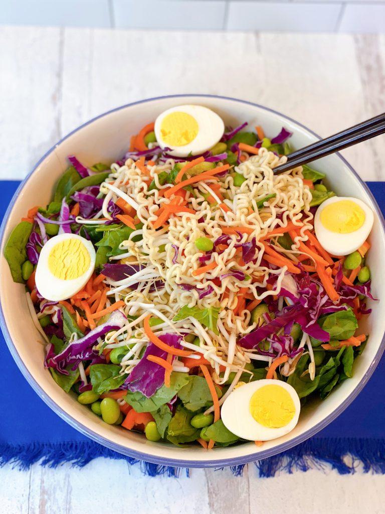 salad ramen