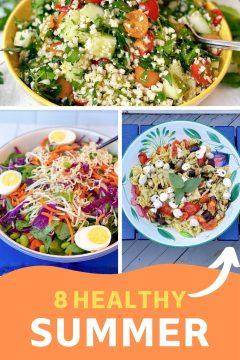 8 healthy summer salads