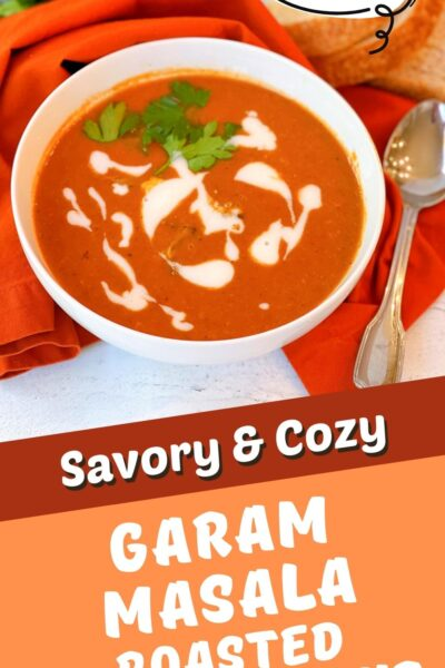 Garam Masala roasted tomato soup