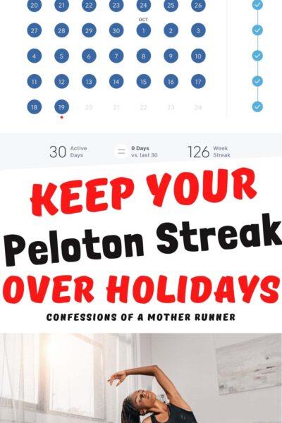 Peloton streak